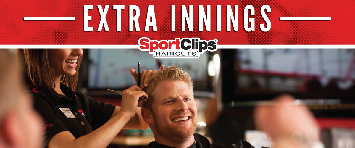 The Sport Clips Haircuts of Tinley Park  Extra Innings Offerings